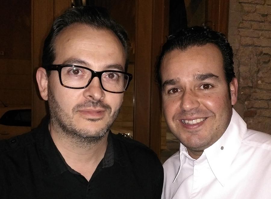 Carlos Caballero y Antonio García Morales