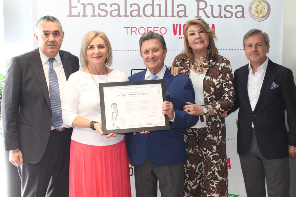 Premio Especial de la Organización a Santiago de Marbella