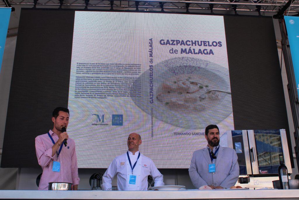 Con Frutos Jiménez (La Reserva 12) y Manu Balanzino, presentador del #MGF19