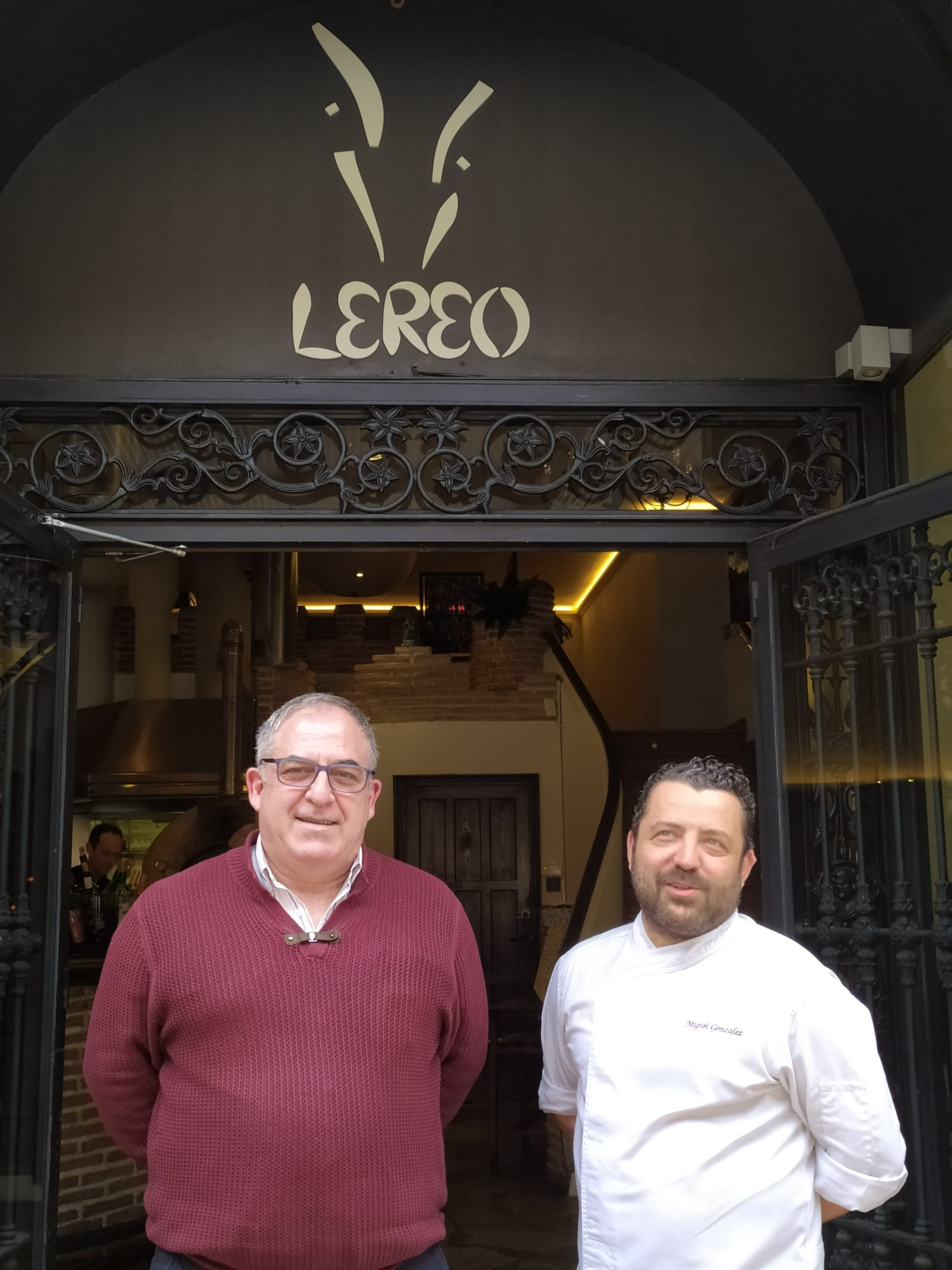 Armando Herranz y Miguel González
