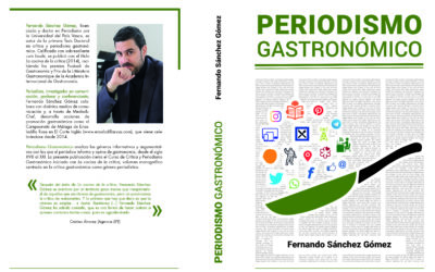 Un libro analiza 3 siglos de periodismo gastronómico en España